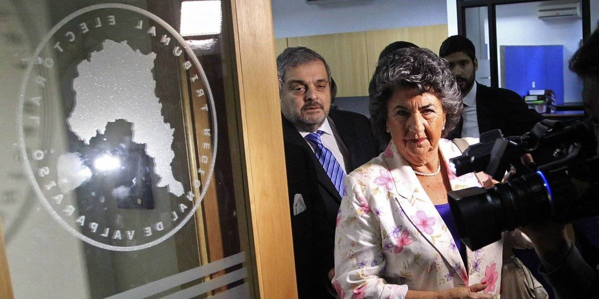 Polémica en Viña del Mar: Virginia Reginato llegó al Tribunal Electoral para defenderse del recurso que busca su dimisión