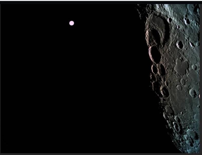 Israel ingresa por primera vez una sonda espacial en la órbita lunar
