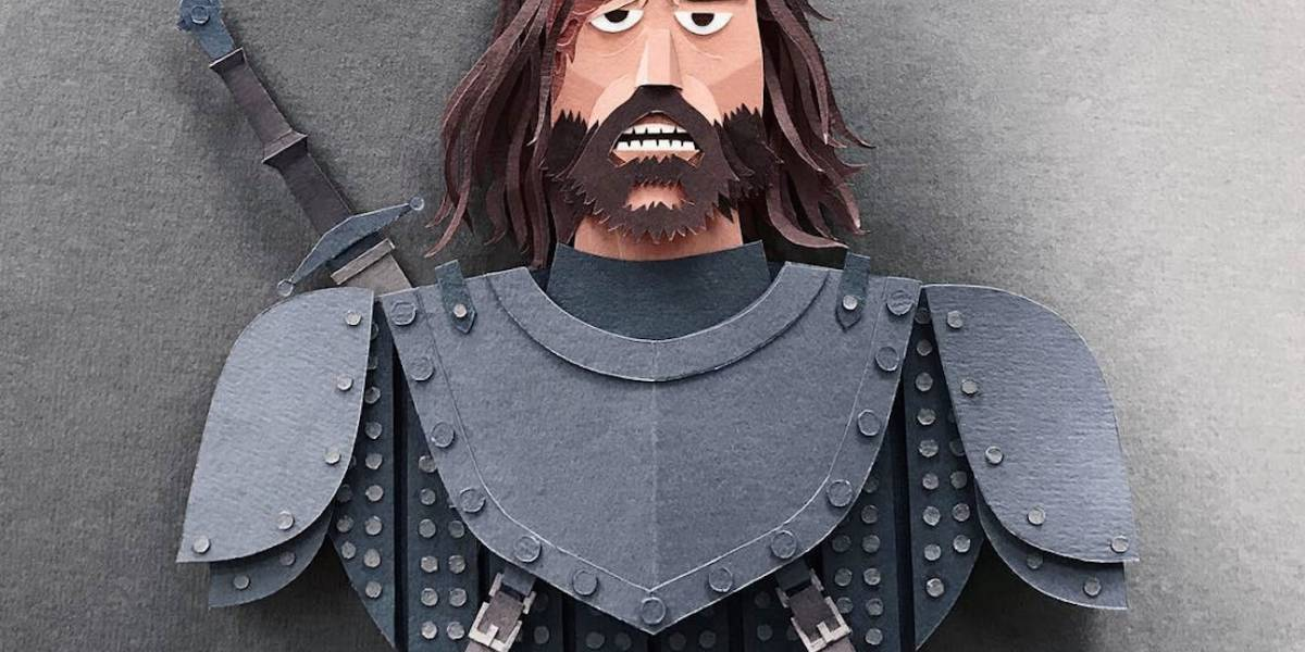 Personajes de Game of Thrones se salen del papel