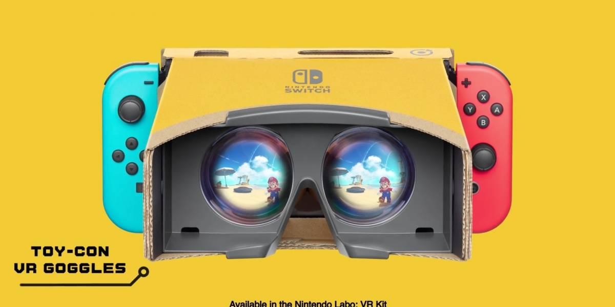 Dos personajes icónicos llegarán a los lentes VR de Nintendo Labo