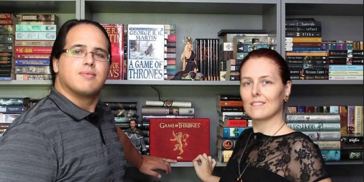 ¡Conoce a la pareja más grande fans de Game of Thrones!