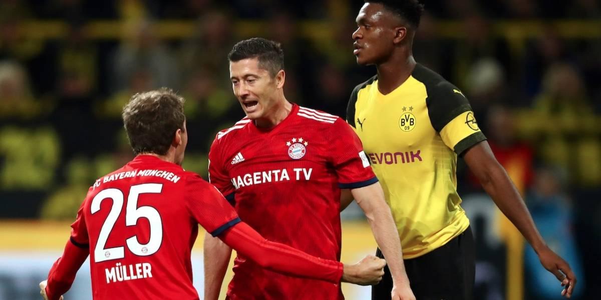 Bayern Múnich y Borussia Dortmund definen gran parte de la Bundesliga