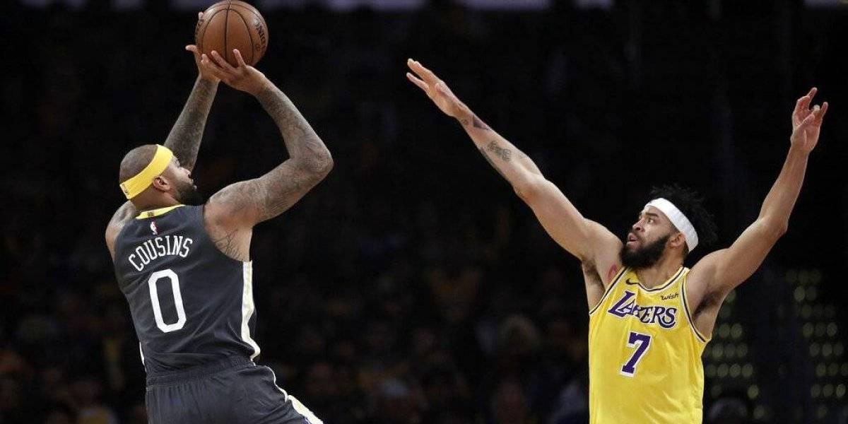 NBA: Golden State Warriors barre a los Lakers y queda a un paso de asegurar la localía en el Oeste