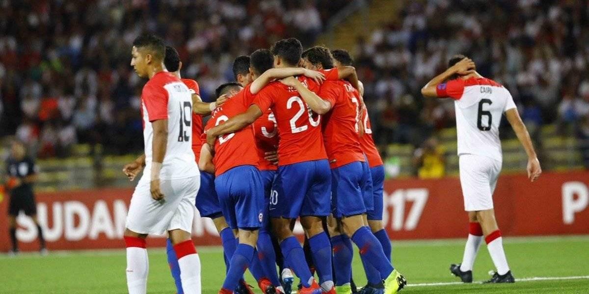 Así vivimos la sufrida victoria de Chile ante Perú en el Sudamericano Sub 17