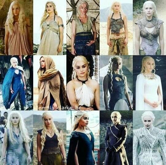 daenerys targaryen style evolution