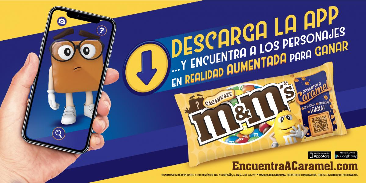 Caramel, el nuevo candidato para ser vocero oficial de los chocolates M&M's®