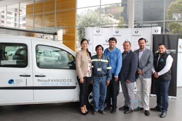 Renault apoya la labor de la Empresa Eléctrica Quito (EEQ)