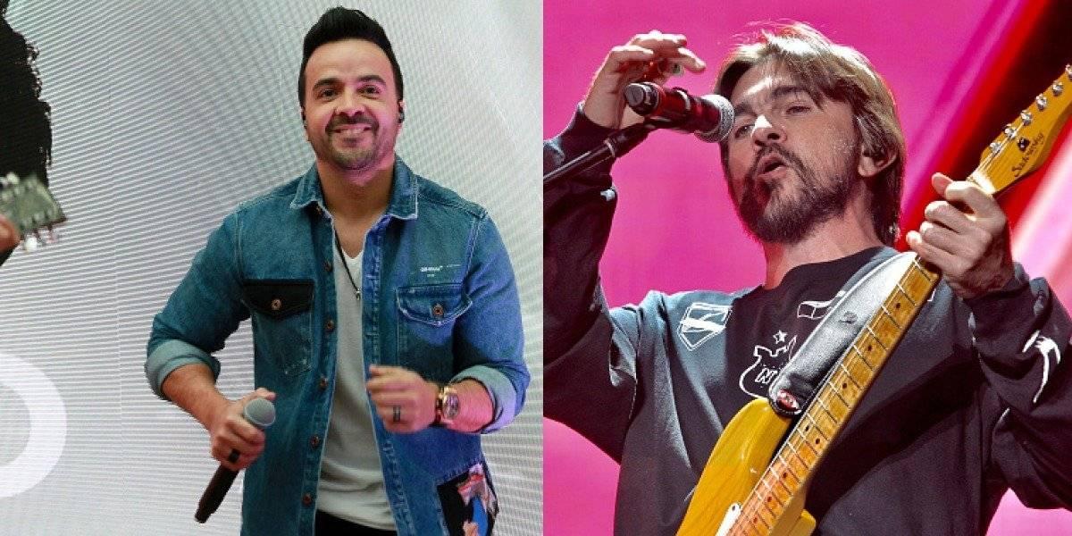 Juanes y Luis Fonsi probaron el 'Kitipun' de Juan Luis Guerra