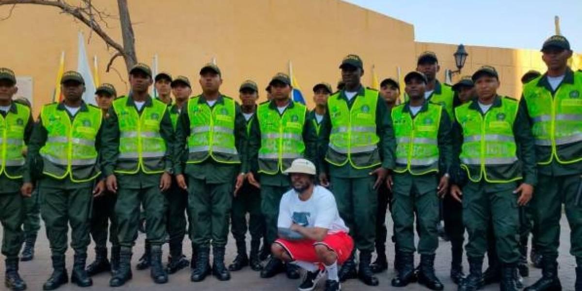 Kendrick Lamar sorprendió a sus fans en visita a Cartagena