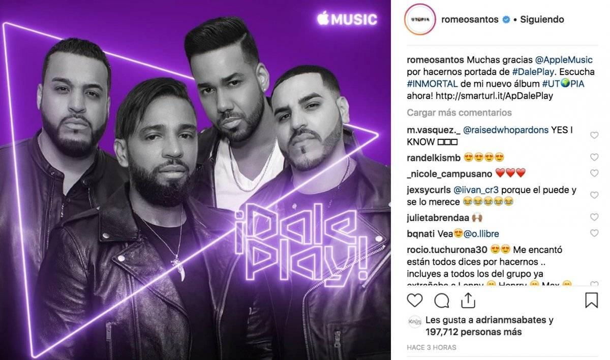 La nueva canción de Romeo Santos con Aventura después de años