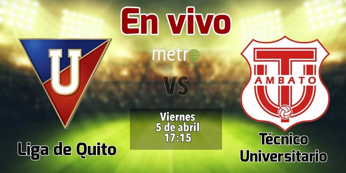 Liga pro Ecuador: Liga de Quito vs Técnico Universitario. En vivo, donde ver el partido, hora y alienaciones