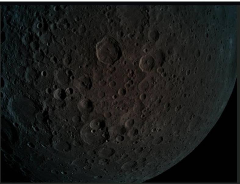 Sonda de Israel ingresa en la órbita de la Luna