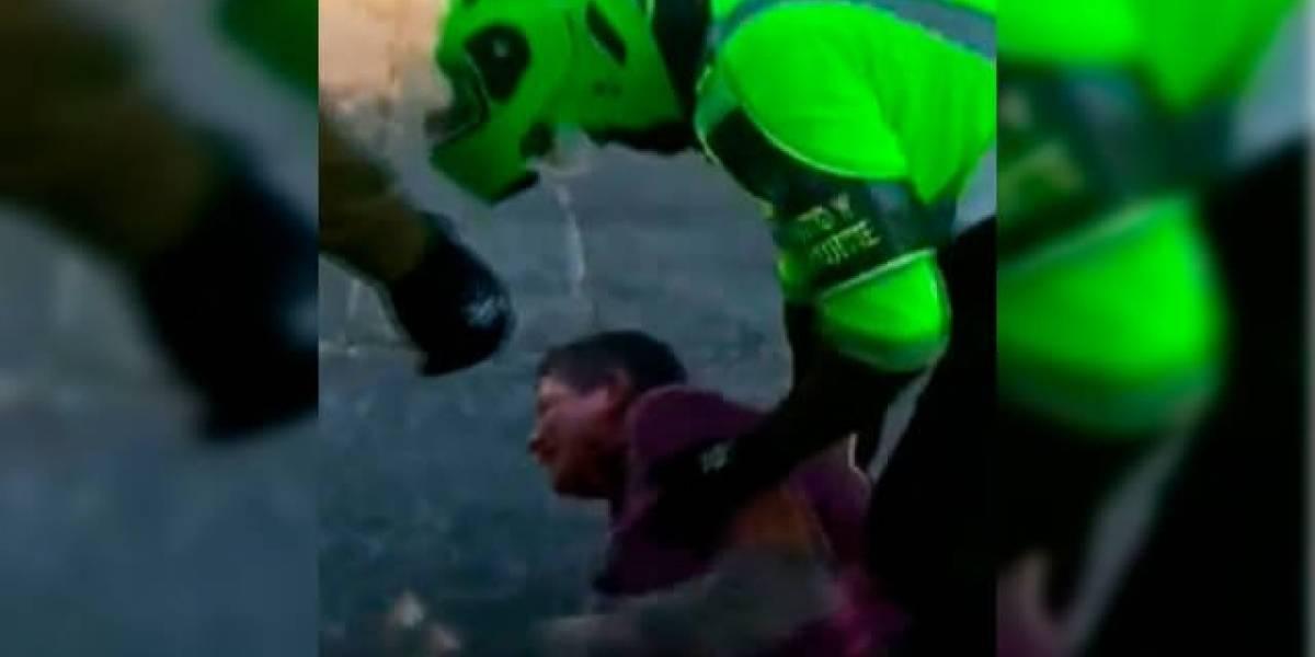 Mototaxista suplicó a la Policía que no se llevara su moto, el único sustento para su familia