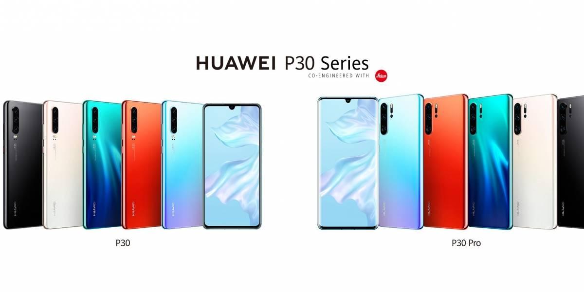 Huawei P30 Lite, P30 y P30 Pro llegan oficialmente a México: Precio y disponibilidad