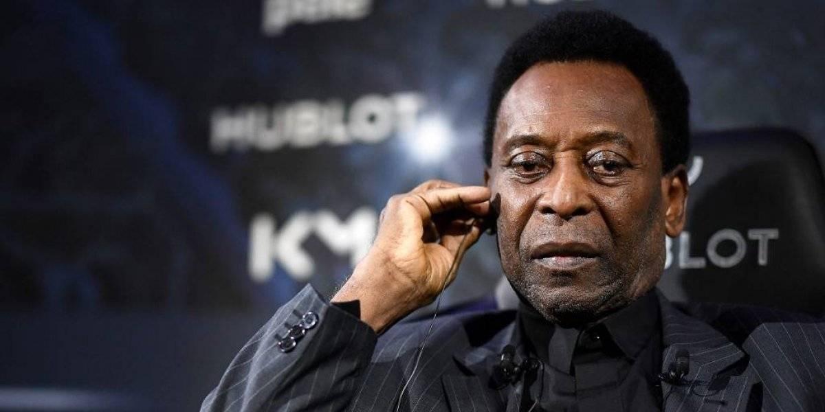 Pelé da sus primeras declaraciones tras haber sido hospitalizado