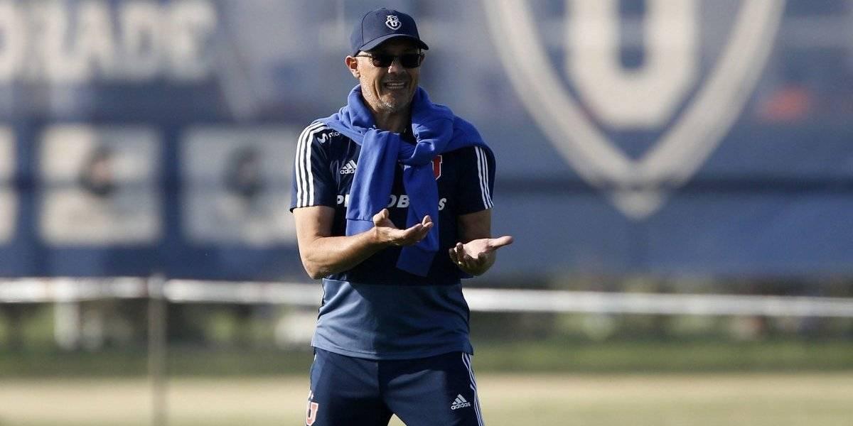 """Arias fija su meta en la U: """"Hoy, 11 puntos atrás, prometo que entrenaré a mi equipo para que juegue como campeón"""""""