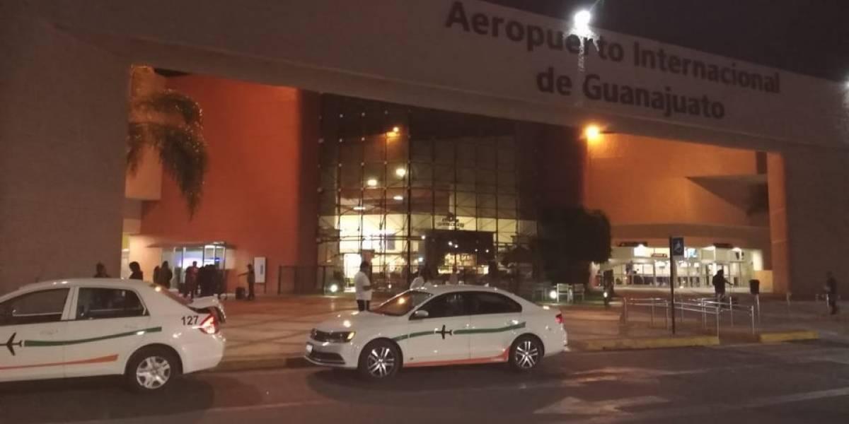 Roban 1 millón de dólares en tres minutos en pista de aeropuerto de México