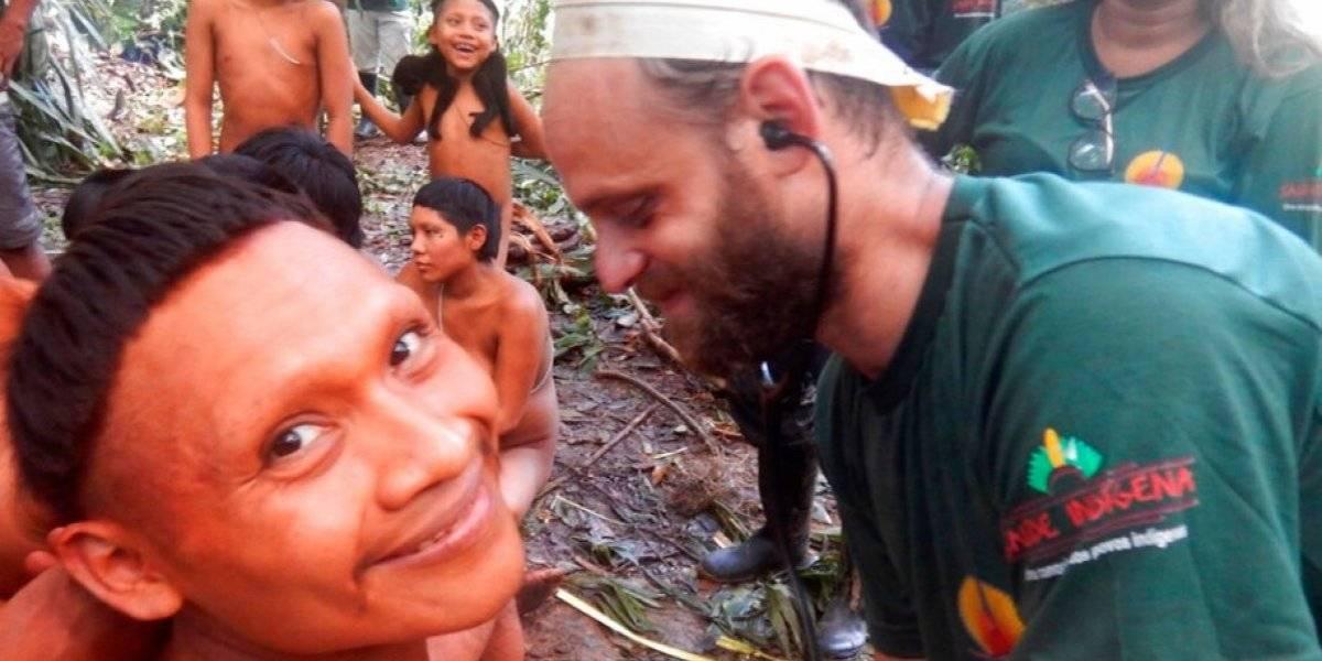 Concretan con éxito expedición con tribu aislada en Brasil