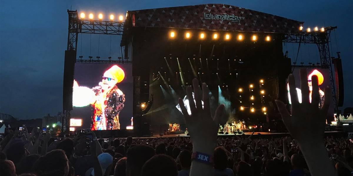 Lollapalooza: Tribalistas leva alegria e brasilidade ao palco Budweiser