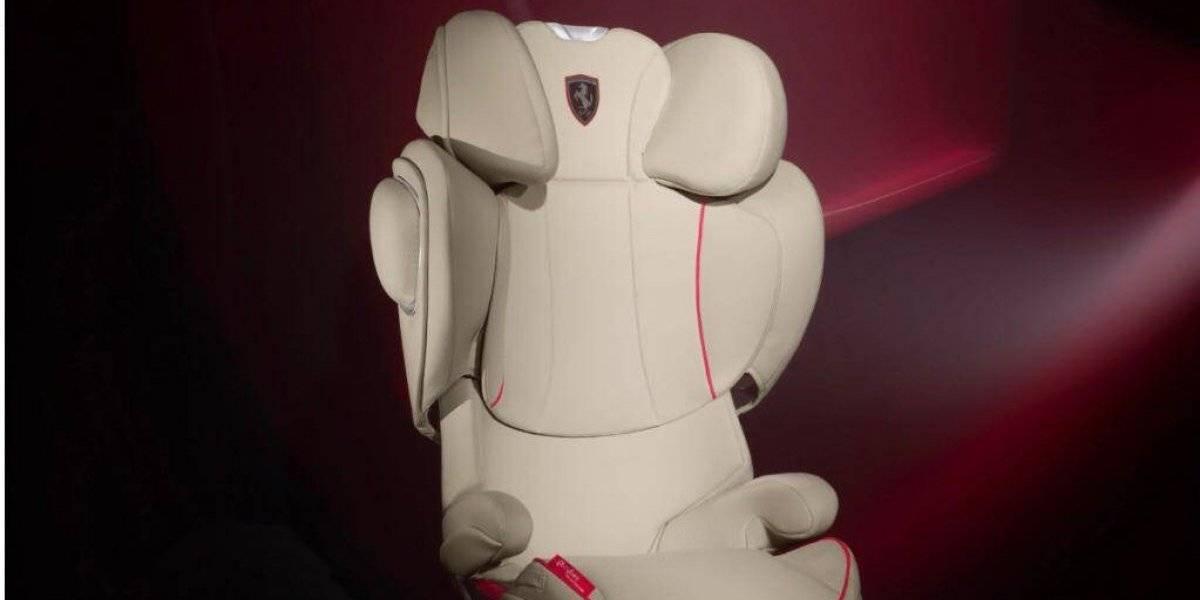 Cybex y Ferrari presentan sus sillas para menores
