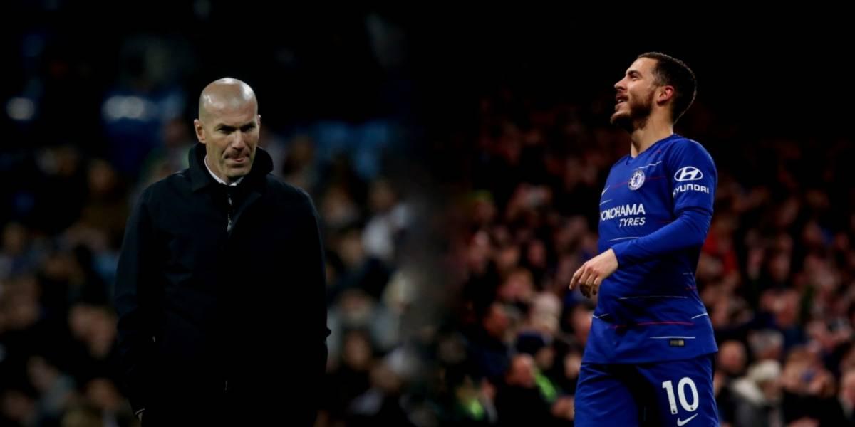El guiño de Zidane a Hazard: 'es un jugador fantástico'