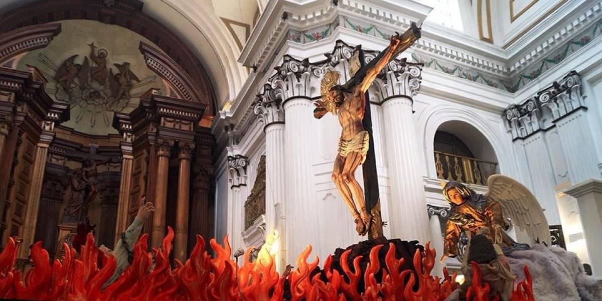 Procesión de Cristo de la Preciosa Sangre recorrerá esta tarde el Centro Histórico