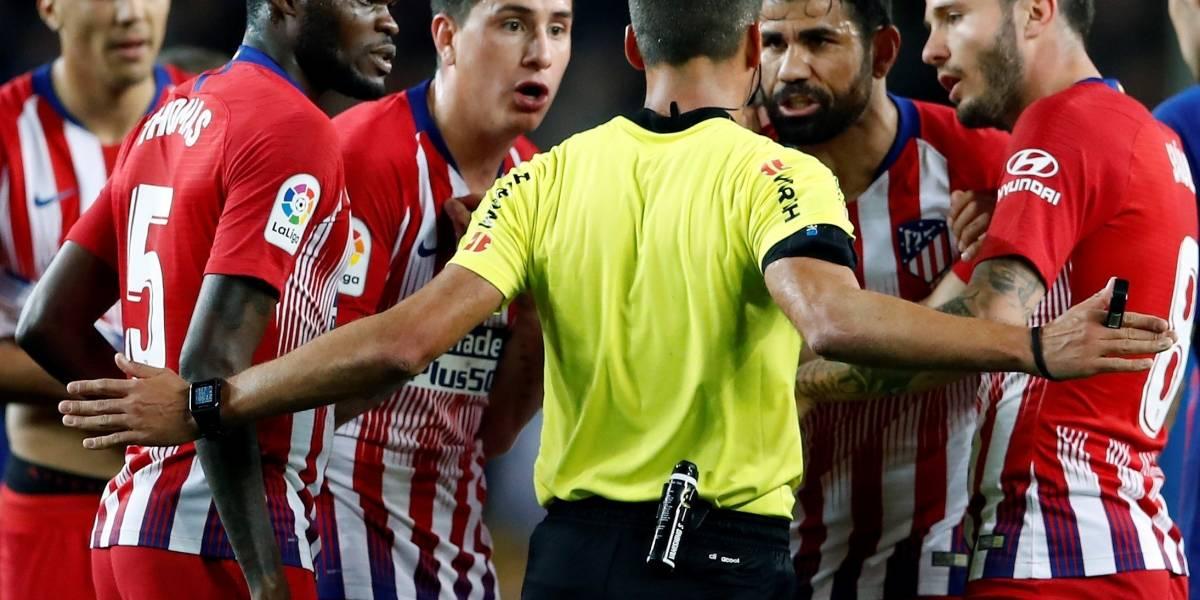 FC Barcelona vs Atlético de Madrid: Diego Costa, expulsado y las redes estallan en su contra