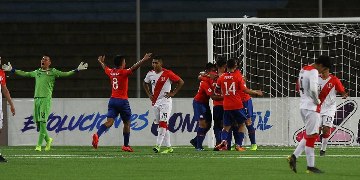 """Luis Rojas, figura de la Rojita Sub 17: """"No nos conformamos con la clasificación, apuntamos más alto"""""""