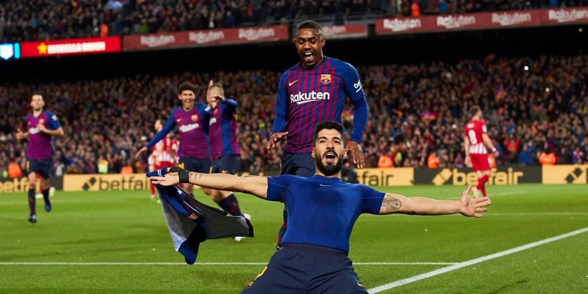 Suárez y Messi le dan virtualmente el título al Barcelona