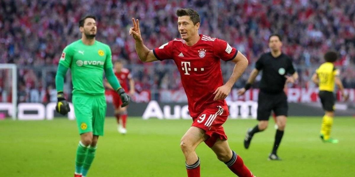 Bayern Munich humilla al Dortmund y le arrebata el liderato de la Bundesliga