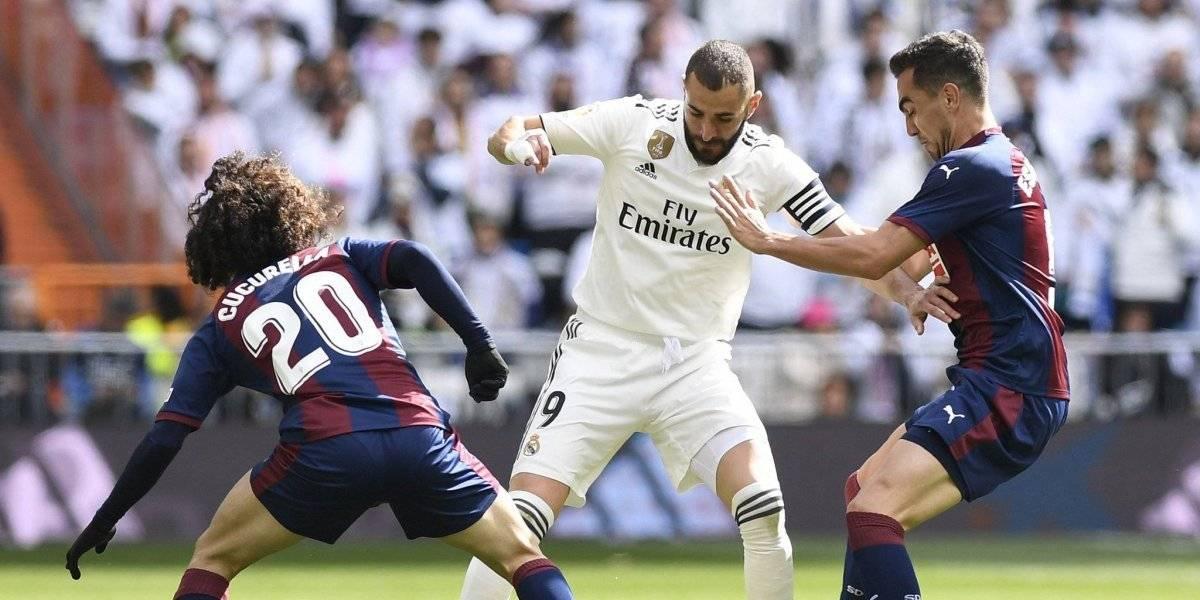 Real Madrid vino de atrás para remontarle al Eibar de Fabián Orellana en la Liga española
