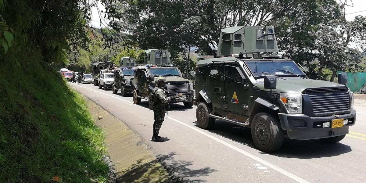 Habilitada la vía Panamericana entre Cali y Popayán