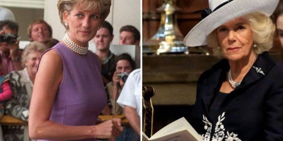 El desagradable sobrenombre de la princesa Diana para Camilla que enfureció al príncipe Carlos