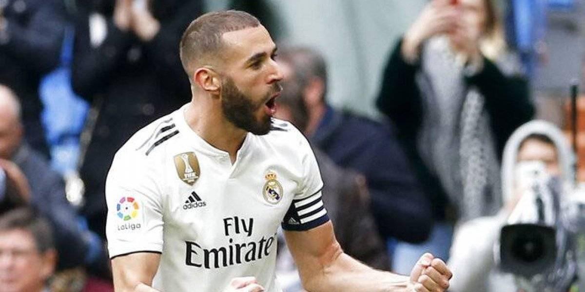 Doblete de Karim Benzema da triunfo al Real Madrid