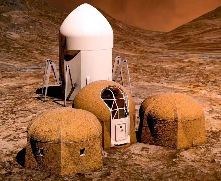 NASA presenta tres diseños de hogares para vivir en el planeta Marte