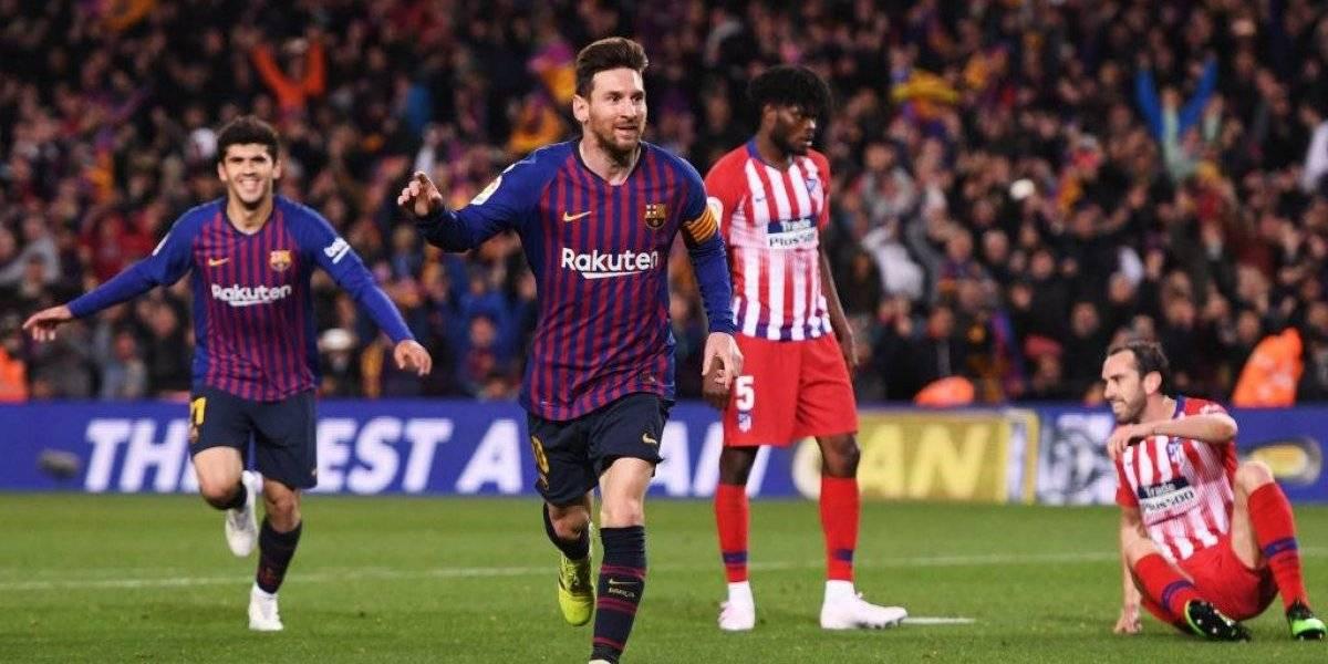 Barcelona vence al Atlético y cada vez está más cerca de un nuevo título de liga