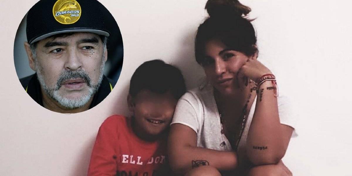 'Le tuve que explicar a mi hijo las adicciones de su abuelo': Gianinna Maradona