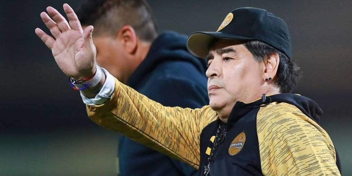 Maradona amenaza con dejar a Dorados por errores del arbitraje