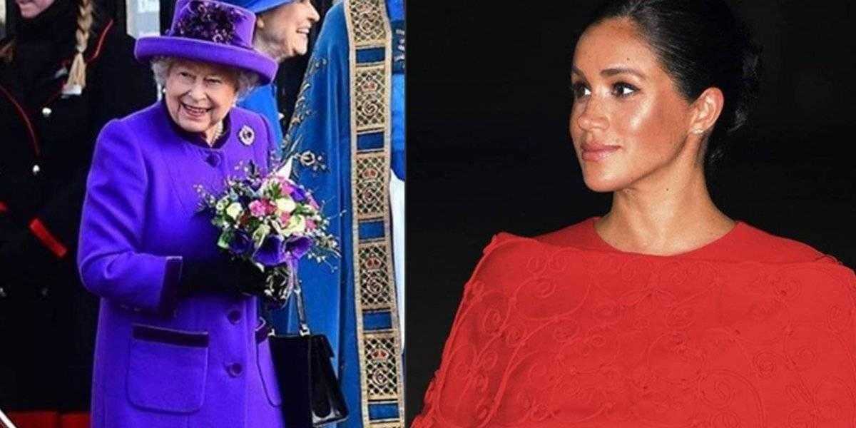 Tensión en la realeza: La reina Isabel II le prohibió a Meghan Markle utilizar sus joyas y las de la princesa Diana