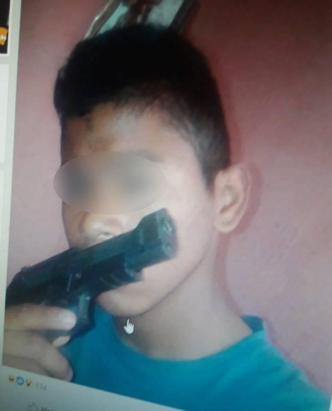 Menor usó sus redes sociales para amenazar con un atentado en contra de un establecimiento educativo. Foto: PNC