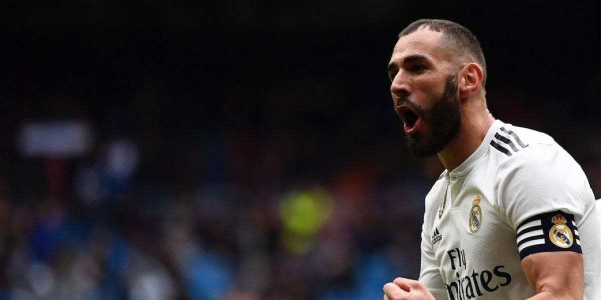 Karim Benzema se viste de héroe en la victoria del Real Madrid