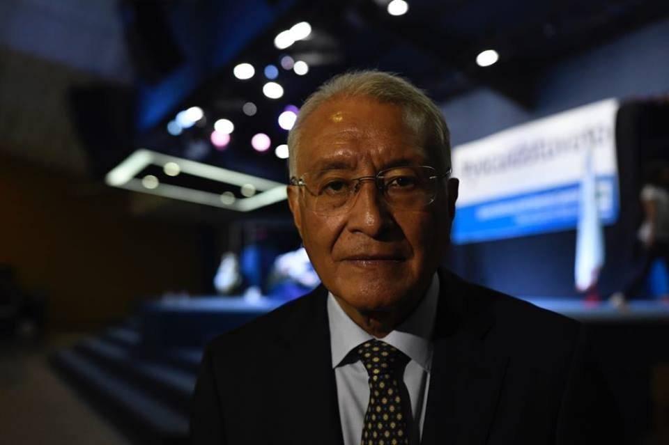 Julio Solórzaron, presidente del TSE. Foto: Omar Solís
