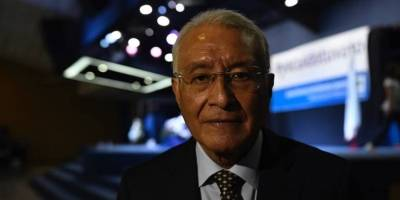 Julio Solórzaron, presidente del TSE.