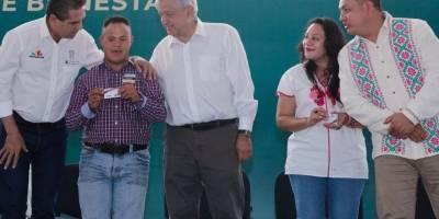 AMLO en Uruapan