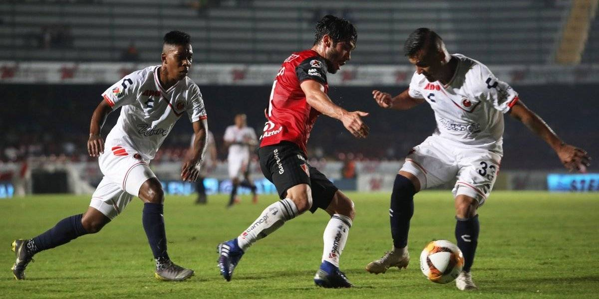 Veracruz cae ante Atlas y sigue sin ganar en el torneo