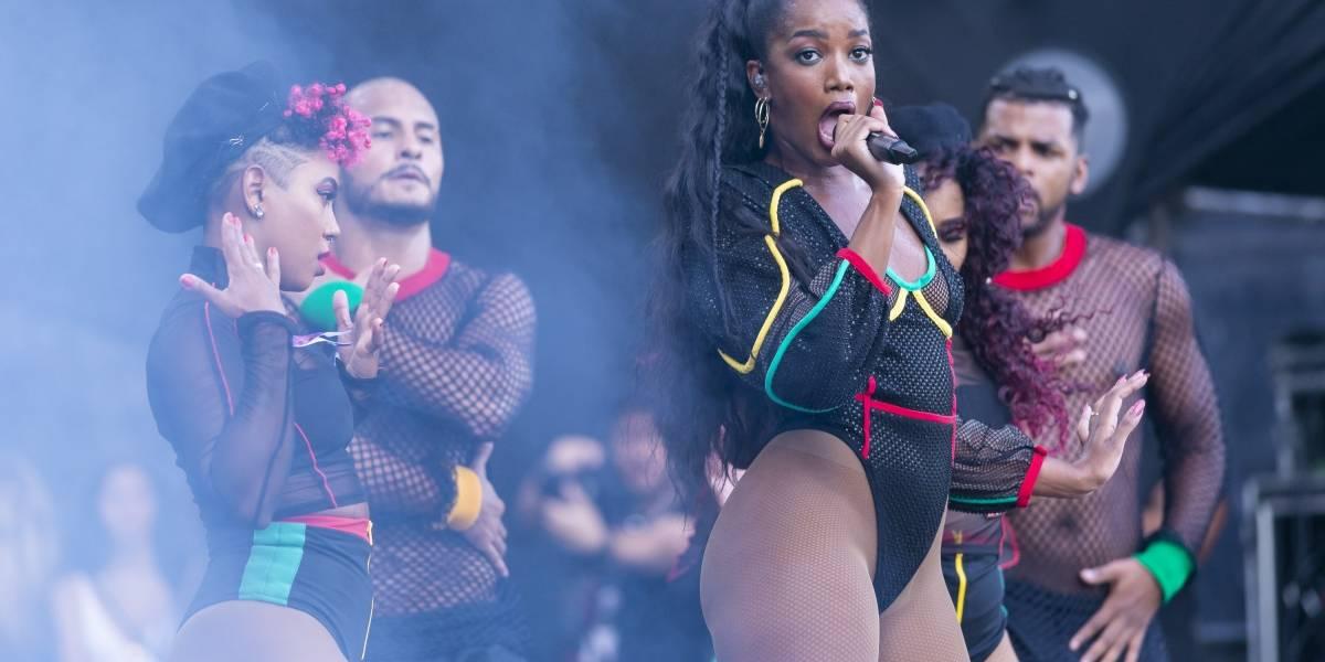 Lollapalooza: IZA leva empoderamento feminino em show cheio de gingado
