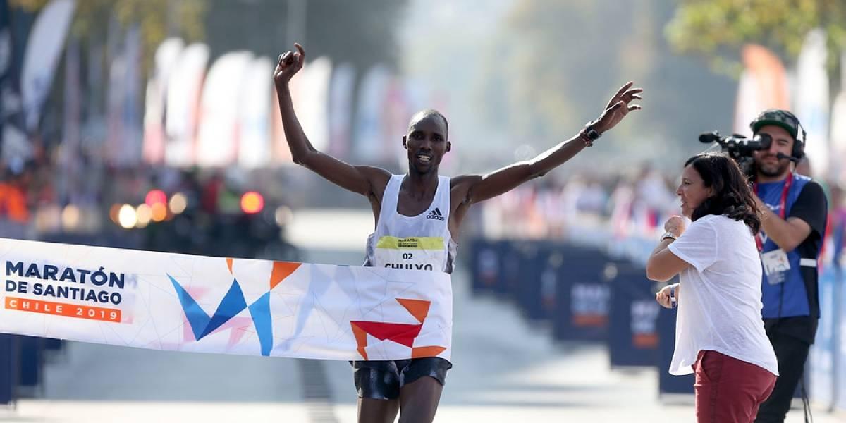 El poder de Kenia se hizo sentir en el Maratón de Santiago 2019