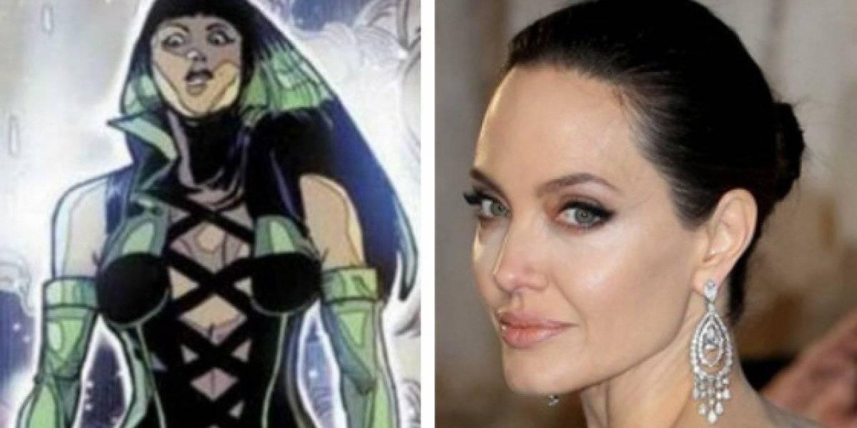 Angelina Jolie será parte del Universo Marvel