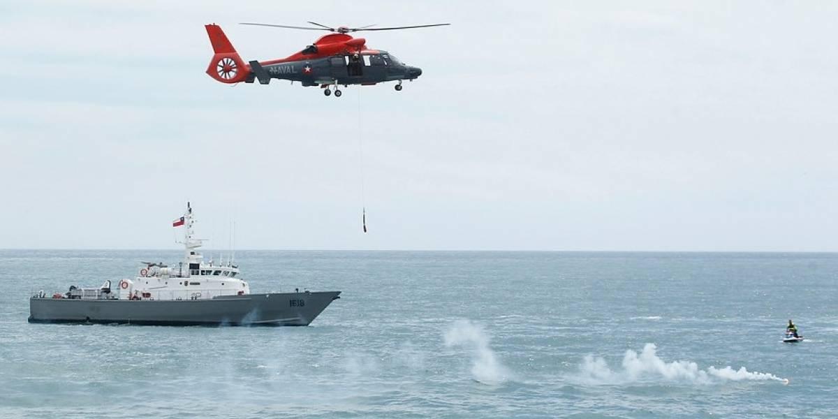 Armada recuperó cuerpo de navegante solitario de nave que naufragó en Maule