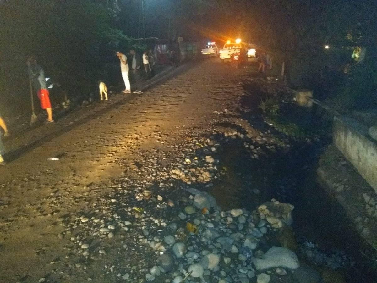 Erosión de la carretera